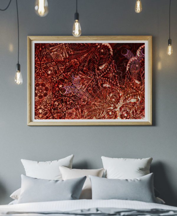 "Giclée Fine Art Print of ""Detailed Reflections (2020)."